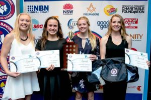 U17 girls win team event at Mingara 2016